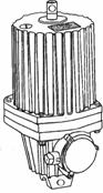 Гидротолкатели ТЭ-30, -50, -80.