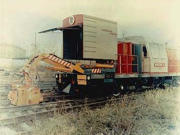 Машина путевая рельсосварочная самоходная ПРСМ-4